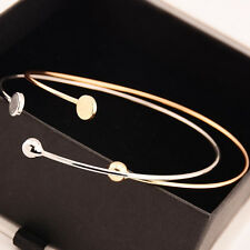 Bohemian Upper Arm Bracelet Open Bangle Armlet Arm Cuff Adjustable WWS