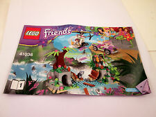 Lego Friends Instruction Booklet 41036 MANUAL ONLY Book