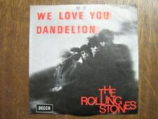 ROLLING STONES 45 TOURS BELGIQUE WE LOVE YOU