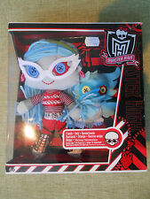 Monster High Friends Plush Doll Ghoulia Yelps & Sir Hoots a Lot & Owl New in Box