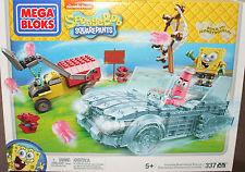 Mega Bloks SpongeBob SquarePants  Invisible Boatmobile Rescue Set 337 pcs (Lego)