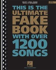 Fake Bks.: This Is the Ultimate Fake Book with over 1200 Songs (1994,...