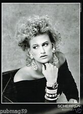 Publicité advertising 1989 Haute Couture Scherrer par Bettina Rheims