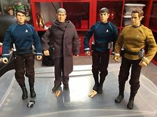 "LOT 4 Star Trek Command Collection Playmates 12"" ACTION FIGURE PIKE MCCOY SPOCK"