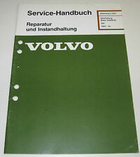 Werkstatthandbuch Volvo 340 Überholung Motor D16 / B172 D 16 B 172 Baujahr 1984