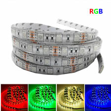 1M 5M SMD 5050 RGB white Waterproof 300 LED Flexible 3M Tape Strip Light DC12V