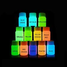UV Glow Neon Face & Body Paint - 20ml NEON SET of 1-Fluorescent & Super Bright チ