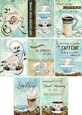 Coffee Lovers ~ Card Toppers / Scrapbooking / Card Making