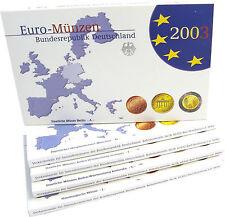 Germania 19,40 euro 2003 PP KMS 1 cent a 2 euro MZZ. a-J completamente in astuccio