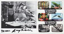 GERRY ANDERSON Signed FDC Ltd Ed. THUNDERBIRDS & STINGRAY COA