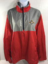 NHL Florida Panthers Official Apparel Jacket by Rebok, Red/Grey (Medium)