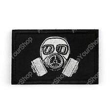 Star War Military Tactical Embroidery Army Morale Gas Mask Hook Loop Patch Badge