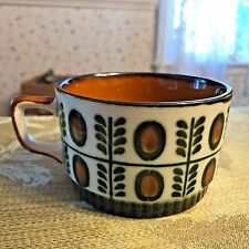 Vintage Boch Belgium 125th Aniversary Noix Hand Painted Coffee Tea Cup Rare