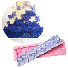 Four-Petal Flowers Silicone Fondant Mould Cake Decor Chocolate Baking Lace Mold