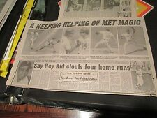 New York Mets Magic , NY Post , Newspaper Clipping / Poster , 5/13/1985