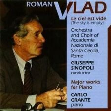 Roman Vlad: Major Works for Piano New CD