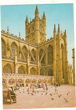 unused Arthur Dixon Postcard of Somerset, Bath Abbey from south west, pav/81762