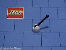 Lego 4592c02 blanc levier petite base avec noir levier x 4 neuf