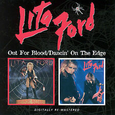 Lita Ford - Out For Blood/Dancin'On The Edge CD New/Sealed