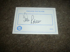 Tim ROBINSON  England  Cricket  / Cricketer  ORIGINAL Hand Signed Card