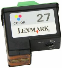 Genuine Lexmark 27 Colour Inkjet Printer Cartridge X1100 | X1200 | X2200 | Z500