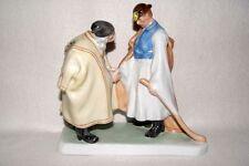 """HEREND Porzellan Figur, Zwei Hirten, """"Farewell"""", Janos Pasztor (1881 - 1945)"""