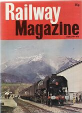 The Railway Magazine : February 1976 published by IPC Transport Press