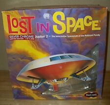 Lost In Space Jupiter 2 Model Kit Silver Chrome - Limited Edition #8003 - NEW