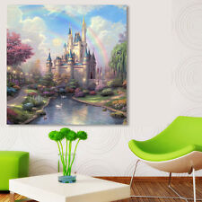 DIY 5D Diamond Ancient Castle Embroidery Painting Cross Stitch Home Wall Decor