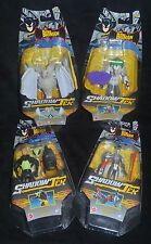 Shadow Tek Set MAN-BAT, Card JOKER, FIREFLY & METAL HEAD EXTREME The Batman