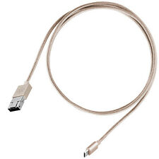 Silverstone SST-CPU02G 2-in-1 Micro-USB Combo USB-A to Micro-B Cable 1 meter