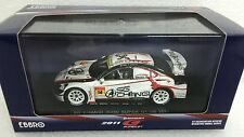 1/43 EBBRO 44558 LEXUS IS350 SUPERGT 2011 #14 SG CHANGI AIRPORT TEAM model car