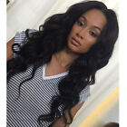 Soft Indian Remy Glueless Human Hair Body Wave Full Lace Wigs Lace Front Wigs