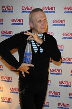 JEAN PAUL GAULTIER Limited Edition EVIAN Glass COLLECTABLE Bottle UNOPENED Water