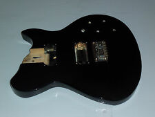 Washburn Lyon L115 electric guitar black body (Parts Project Repairs)
