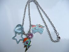 My Little Pony Rainbow Dash charm Necklace - Costume Jewellery - ( Please visit