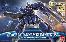 Gundam Reconguista G 1/144 HG #07 Space Jahannam Klim Nick Use Commander Model