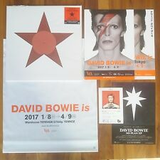 "JAPAN ONLY VINYL 12"" BLACK STAR/LAZARUS+POSTER+POSTCARD+ DAVID BOWIE is RSD 2017"