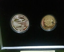 Malaysia ATM Proof set of 2 with cert and box  SN479