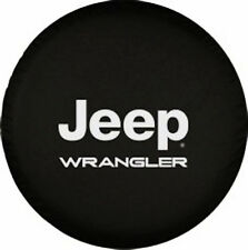 "Spare Wheel Tire Cover Series Jeep Wrangler Tire Cover 30""-31"" Black 35mil Vinyl"