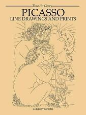 Picasso Line Drawings and Prints Dover Fine Art, History of Art