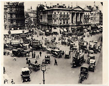 Vintage OLD LONDON PICCADILLY CIRCUS PHOTO  Turn of the Century AUTOMOBILIA