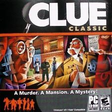 Clue Classic Ultimate Who Dunnit Game PC Windows XP Vista Win 7 8 10 New Sealed