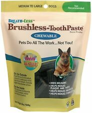 Ark Naturals Brushless Toothpaste-Dogs) 18oz  Medium to Large