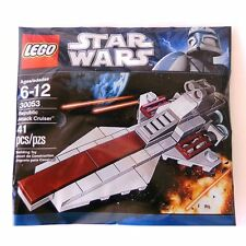 LEGO Star Wars 30053 Republic Attack Cruiser Kreuzer Polybag Promo Beutel