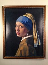 "Johannes Vermeer "" The Girl With The Pearl Earring"" Giclée on Canvas"