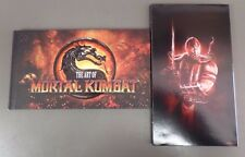 """The Art of Mortal Kombat Book - NEW Artbook 9"""" x 5""""  - 113 pages"""