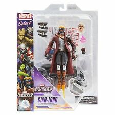 """Marvel Select Guardians of the Galaxy Star-Lord 7 """" DISNEY EXCL  IN HAND LEGENDS"""