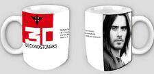 COFFEE/TEA INSPIRED MUG - 30 SECONDS TO MARS -JARED LETO !!!!