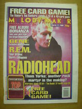 MELODY MAKER 1995 MAR 11 RADIOHEAD THE BENDS GENE REM